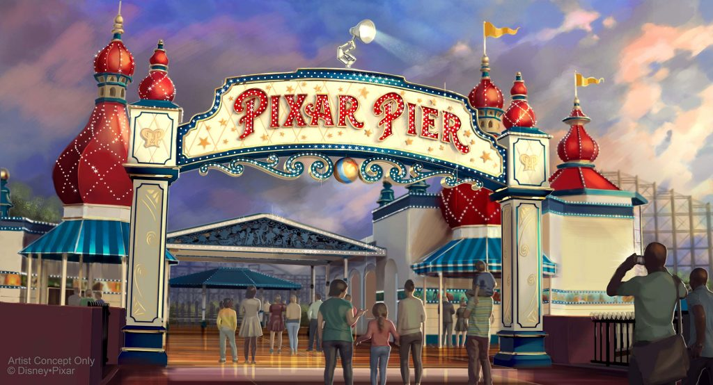 Disneyland announces an opening date for its new Pixar Pier