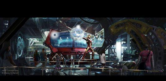 Marvel Super Heroes roller coaster Disneyland Paris