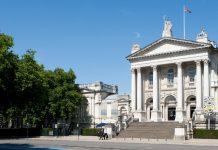 Tate Britain exterior.