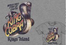 King Cobra retro t-shirt apparel