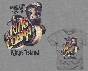 King Cobra retro t-shirt apparel