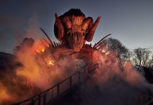 Alton Towers reveals new images of Wicker Man roller coaster