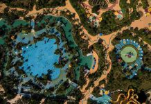 aerial view of Wanda Xishuangbanna International Resort