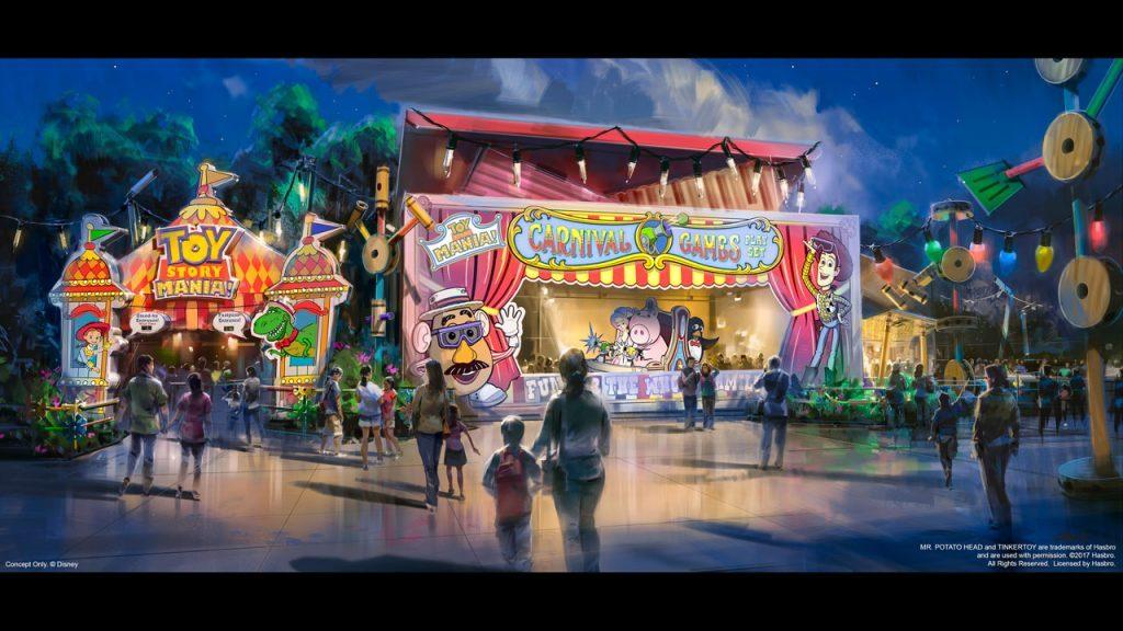 Toy Story Mania! at Toy Story Land in Disney's Hollywood Studios at Walt Disney World Resort