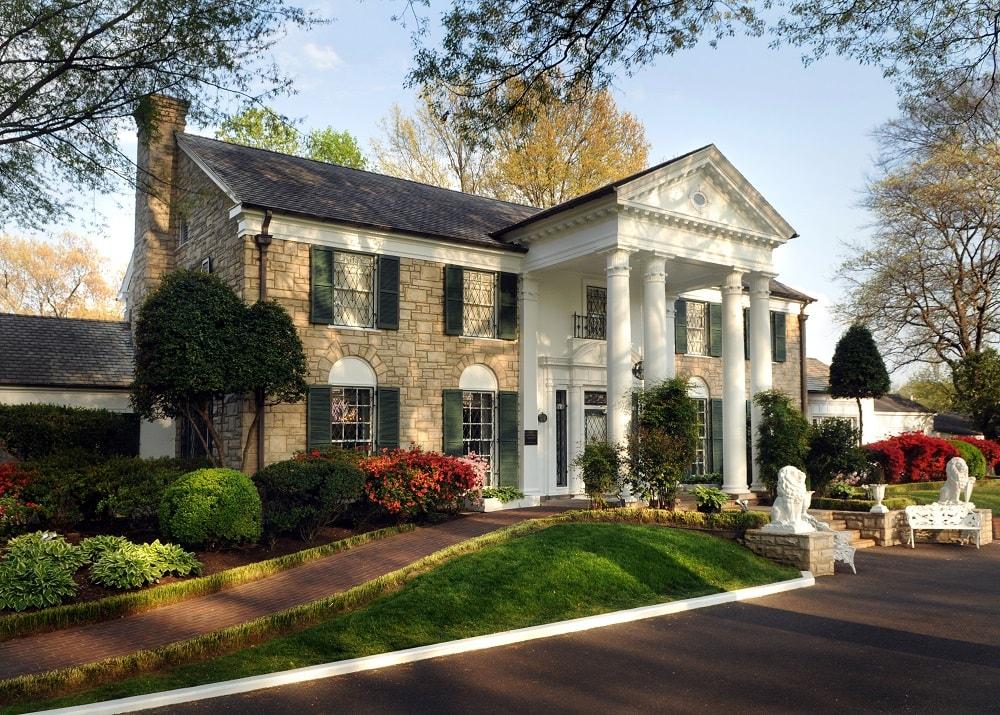 Graceland mansion owned by Elvis Presley Enterprises.