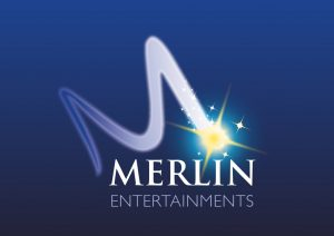 Merlin Entertainments logo. Legoland discovery centre, bear grylls,