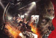 The Walking Dead roller coaster at Thorpe Park Resort.
