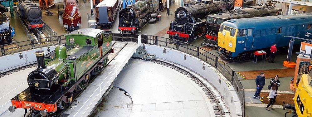 National railway museum seeking design team for revamp.
