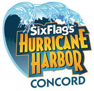 Six Flags Hurricane Harbor Concord logo