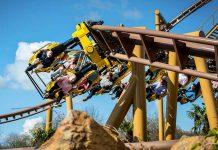 paultons park lost kingdom flight of the pterosaur