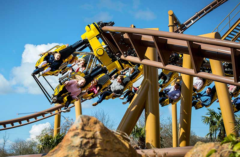 paultons park lost kingdom flight of the pterosaur