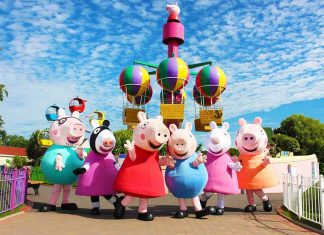 paultons park peppa pigs top theme park attractions