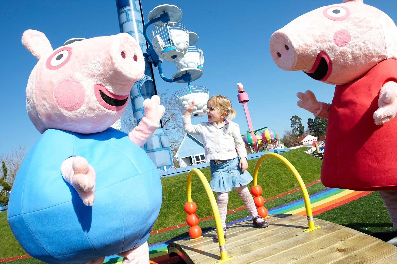 Inside Paultons Park Peppa Pig World With Md Richard Mancey