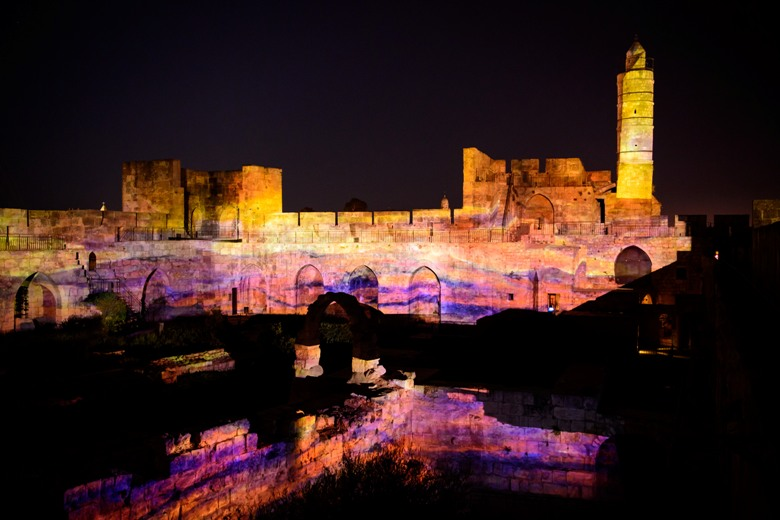 Tower Of David Night Spectacular Upgrade By Digital