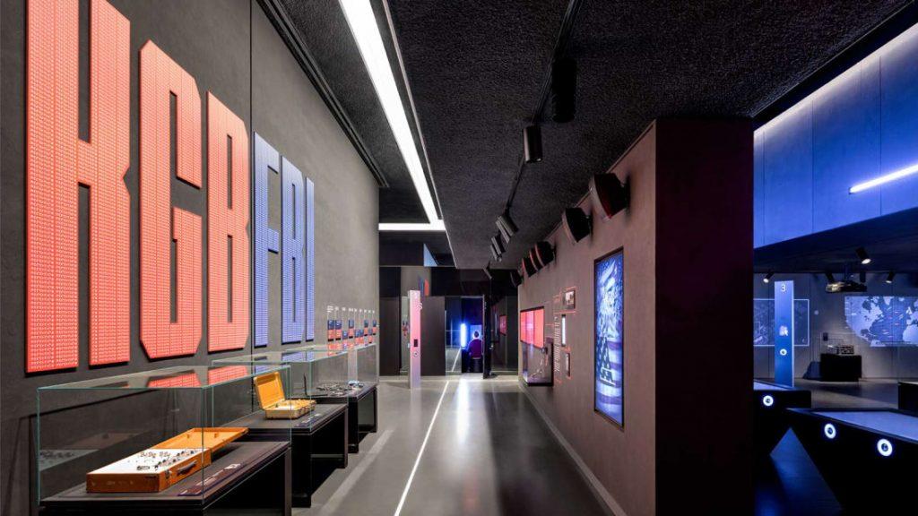 Spyscape espionage museum in New York. Spy intelligence