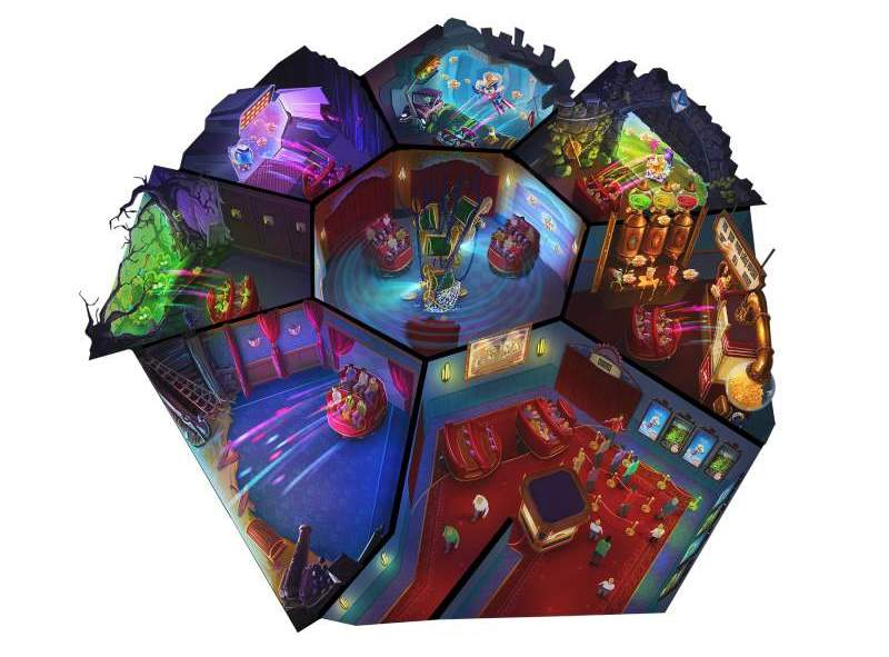 overview of erratic multimedia dark ride by alterface