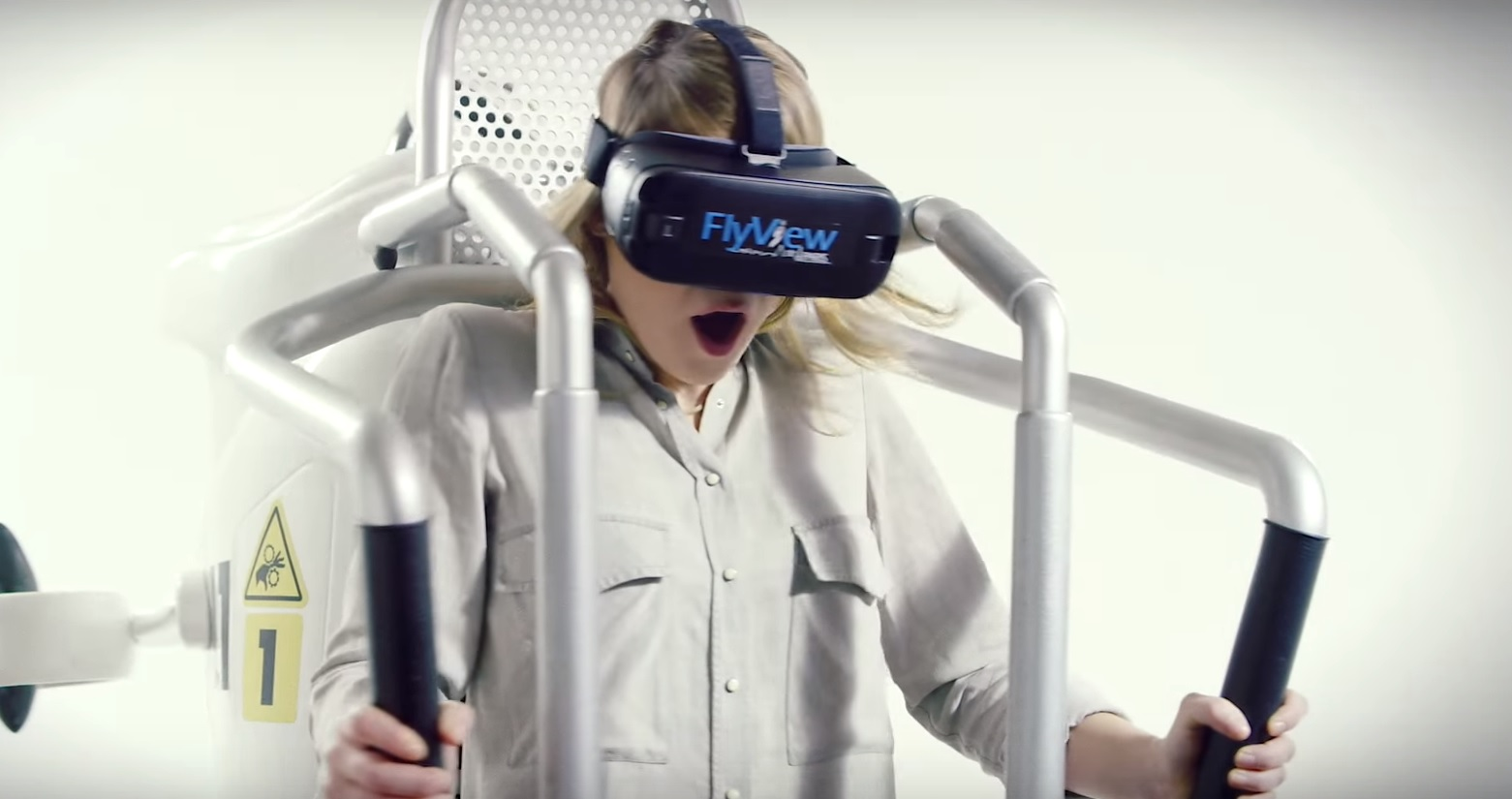 Flyview Paris jetpack virtual reality VR experience