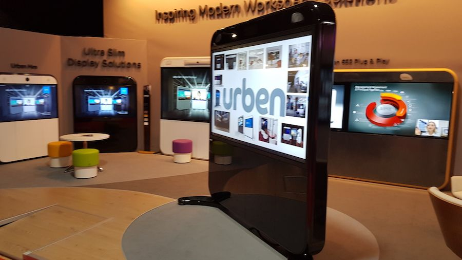 urben ise 2018 audiovisual technology