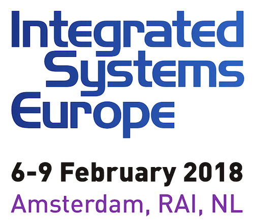 ISE2018 integrated systems europe 2018 logo