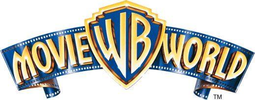 warner bros movie world logo a