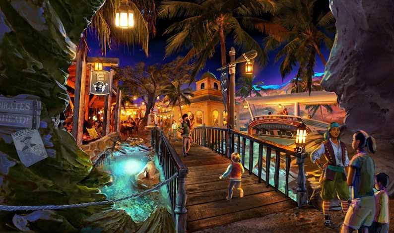 restaurant amikoo theme park Los Piratas de Bacalar