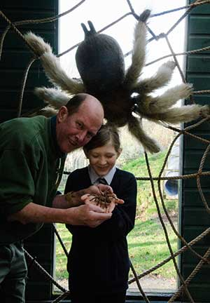 education officer stephen eddy exmoor zoo