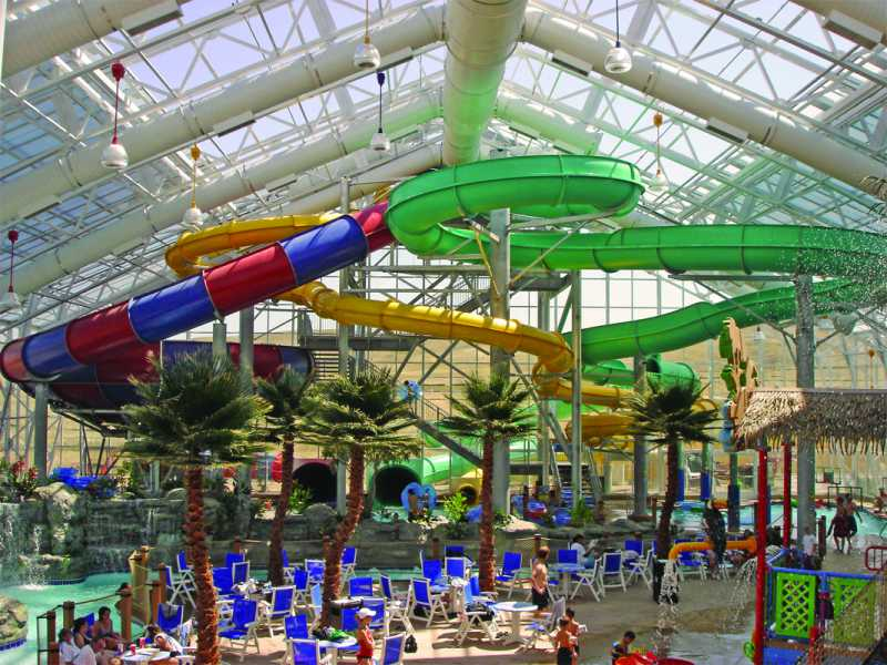 watiki water park no 2 in travel channel top waterparks list enclosed by openaire retractable roof