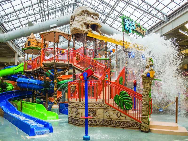 openaire enclosure over kalahari waterpark, no. 2 in travel channel best waterparks list