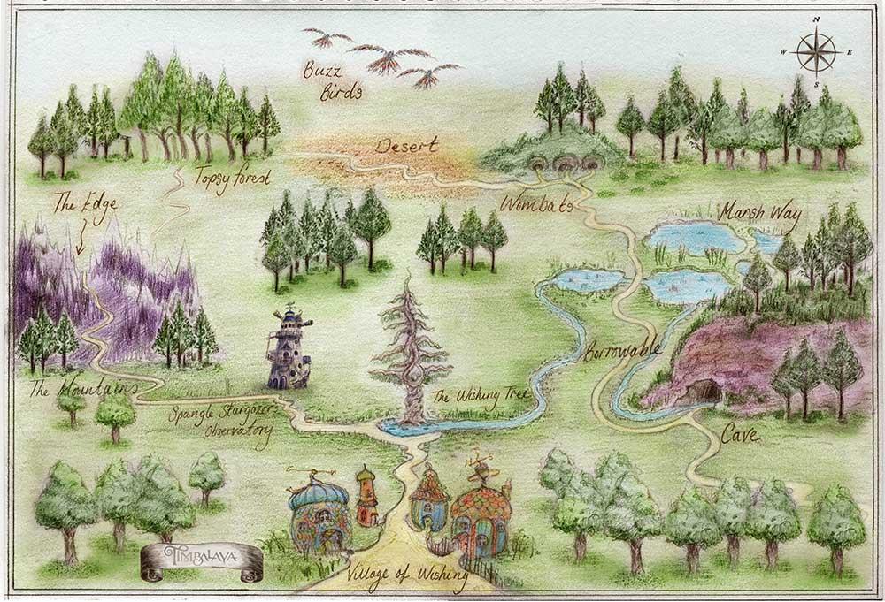 timbalaya map