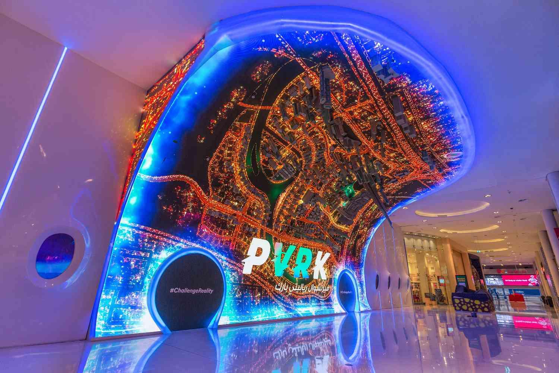 vr park emaar entertainment dubai mall Zeina Dagher