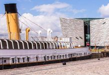 titanic belfast attraction with nomadic belfast hotel iaapa emea