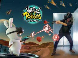 Virtual Rabbids VR Maze Triotech Ubisoft