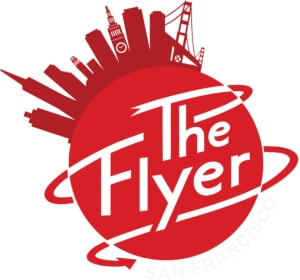 the flyer san francisco logo Flying Theaters