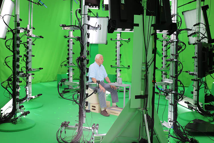 Naturay History Museum Hold The World VR experience with David Attenborough