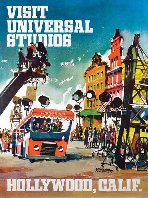 universal studios tour poster