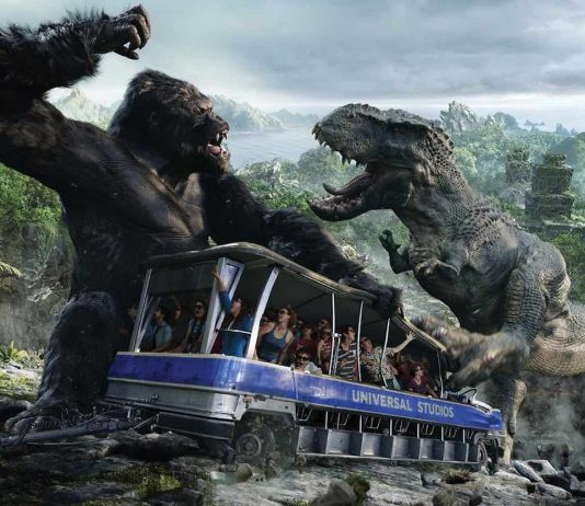 universal studio tour king kong 360 3d a