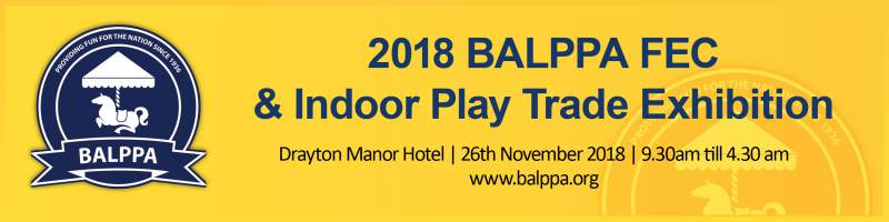 balppa fec and indoor play trade exhibition 2018 poster
