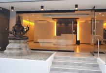 reception area tema design new office philippines