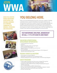 2019 WWA Park Membership Form