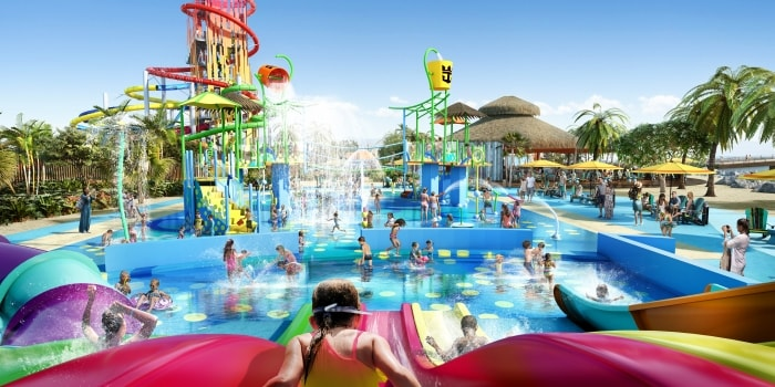 Splashaway Bay at the Perfect Day at CocoCay water park