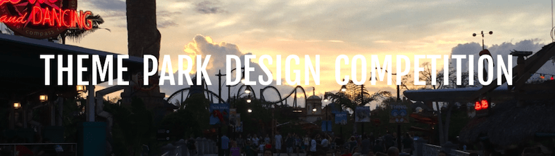 theme park design competition judging panel