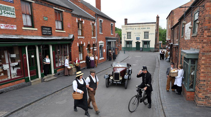 Black country living museum street view AIM Association Independent Museums