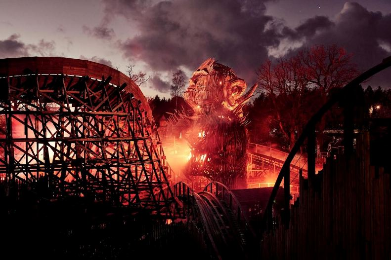 wicker man immserive rollaer coaster alton towers