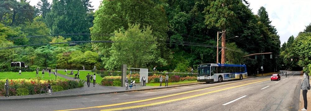 Washington Park master plan rendering.