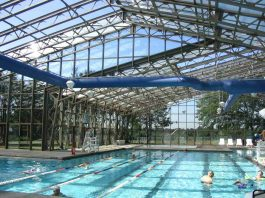 openaire reatractable roof at woodruff family YMCA