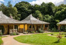 Alton Towers enchanted village lodges