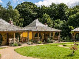 Alton Towers enchanted village lodges