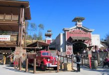 Dollywood Fire chaser coaster storytelling a