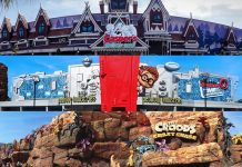 Movie animation park studios MAPS Dream Zone rides