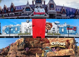 Movie animation park studios MAPS Dream Zone rides